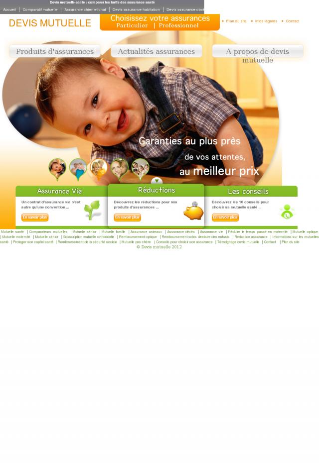Devis mutuelle et comparateur de complémentaire santé gratuit